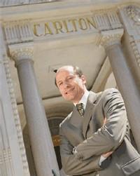 François Chopinet, 47 ans, nouveau directeur du Carlton.