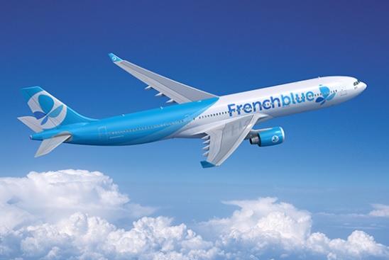 La flotte de French blue se compose d'un Airbus A330-300 et d'un A350-900, un second A350-900 est prévue pour 2018 - Crédit photo : French blue
