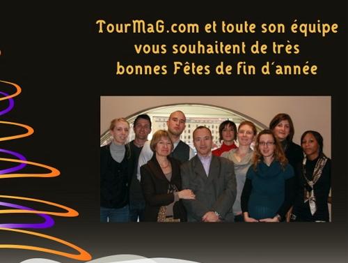 L'équipe de TourMaG.com vous donne rendez-vous le lundi 4 janvier 2010 pour la Newsletter de la rentrée