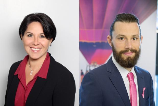Stéphanie Joubrel et Geoffrey Muller rejoignent les équipes commerciales - Crédit photo : Jet tours