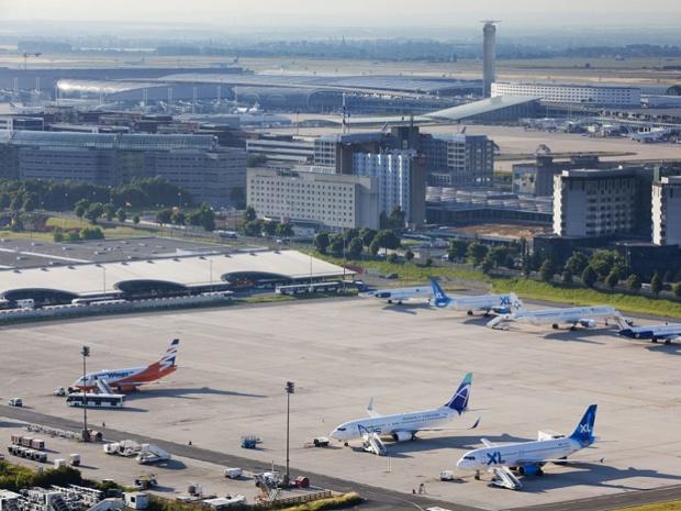 """""""100 % des passagers au départ de la France et à destination des USA sont soumis à un interrogatoire"""", selon Air France - DR : Luider Emile"""
