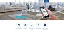 Clic and Surf est un service de Wifi public Crédit : Clic and Surf