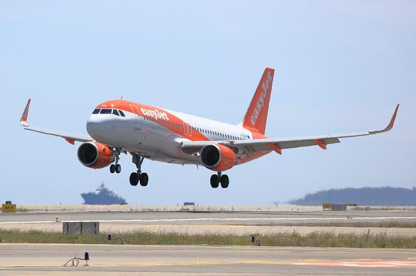 Easyjet représente 42% du marché Français, loin devant ses autres concurrents - Crédit photo : easyjet