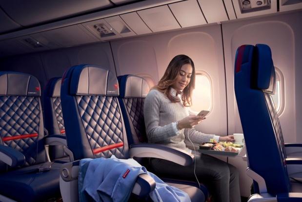 Plus de confort sur les vols transatlantiques delta airlines - DR Delta Airlines