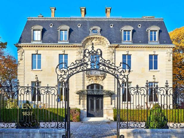 La Maison de Venoge en Champagne est l'un des 6 séjours proposés par le caviste Nicolas - DR : Wine Passport