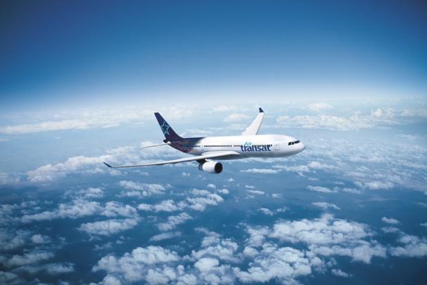 Un A330 de la compagnie Air Transat. L'appareil permettra d'ajouter un vol supplémentaire par semaine de Nantes, Bordeaux et Toulouse vers Montréal - DR Air Transat