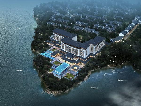 Le futur Meliá Xueye Lake sera composé de 120 chambres et villas, il fait parti des 45 nouvelles adresses de Meliá - Crédit photo : Melià