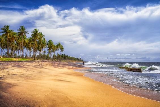Une plage du Sri Lanka. Le Club Med ouvrira un nouvel établissement dans le pays pour l'été 2019 - DR Club Med