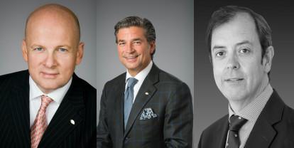Christoph Mares, Richard Baker et Paul Massot - DR Mandarin