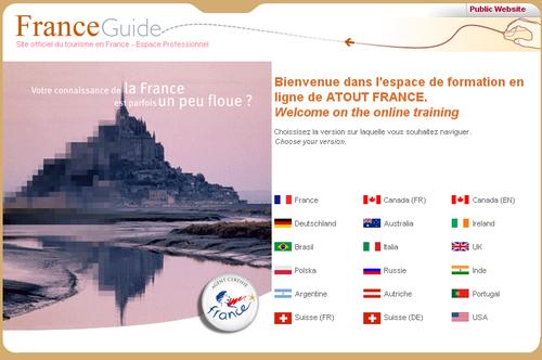 Devenez ''agent certifié France'' avec Atout France