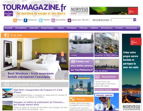 TourMagazine.fr : un portail de voyage grand public à conseiller à vos clients
