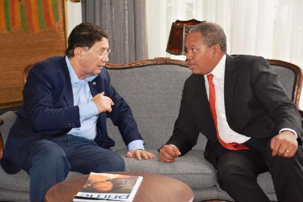 Taleb RIFAI, Secrétaire Général de l'Organisation Mondiale du Tourisme (OMT), a effectué une visite à Madagascar le 1er novembre 2017 - DR