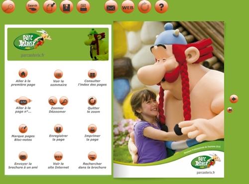 Cliquer sur l'image pour feuilleter les brochures