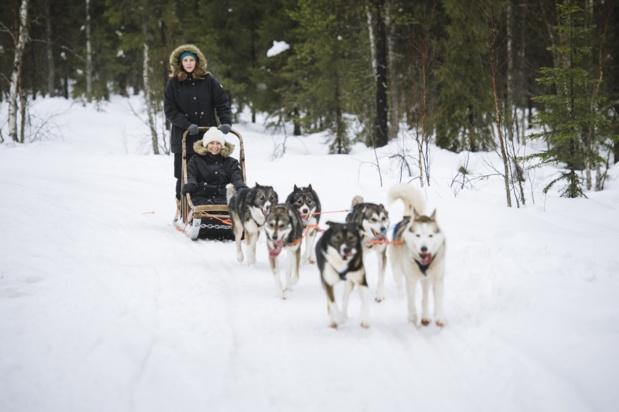 Pour les fêtes de fin d'année, Nortours propose des séjours en Laponie finlandaise. - DR Juho Kuva