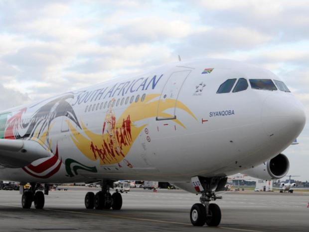 La SAA a déjà fait sortir 5 avions de sa flotte, et réduit ses vols d'un quart, dans un soucis d'économies © SAA FB