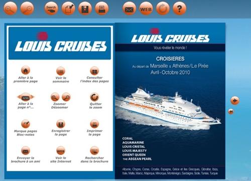 Cliquer pour découvrir les brochures et le programme de Louis Cruise au départ de Marseille sur Brochuresenligne.com