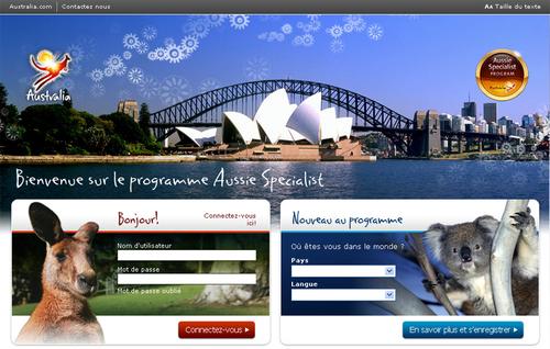Le nouveau site de formation en ligne Aussiespecialist.com