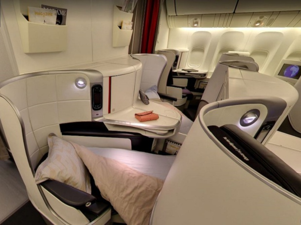 Etre ou ne pas être en cabine business, telle est la question - DR Air France (photo Air France - Boeing 777-300 - Best & Beyond)