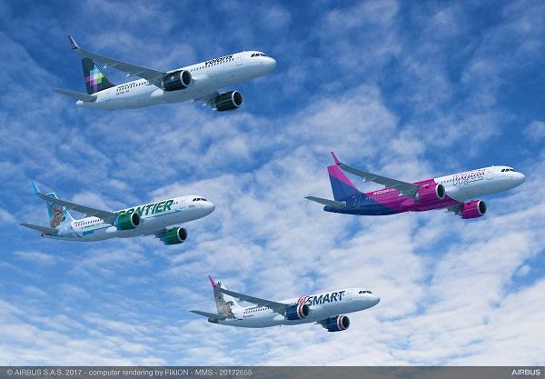 La commande permet au constructeur européen de comptabiliser 718 commandes, contre 605 pour Boein - Crédit photo : Airbus