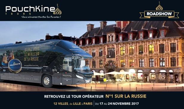 Pouchkine Tours ira à la rencontre de 12 villes françaises - DR