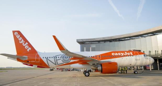 easyjet va positionner un nouvel appareil à Nice - DR easyjet