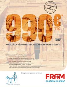 FRAM met l'Egypte en vedette jusqu'au 5 février 2010