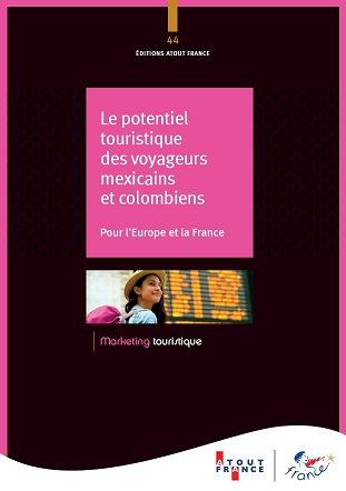 Atout France et le groupe ADP publient une étude sur les voyageurs mexicains et colombiens - image Atout France