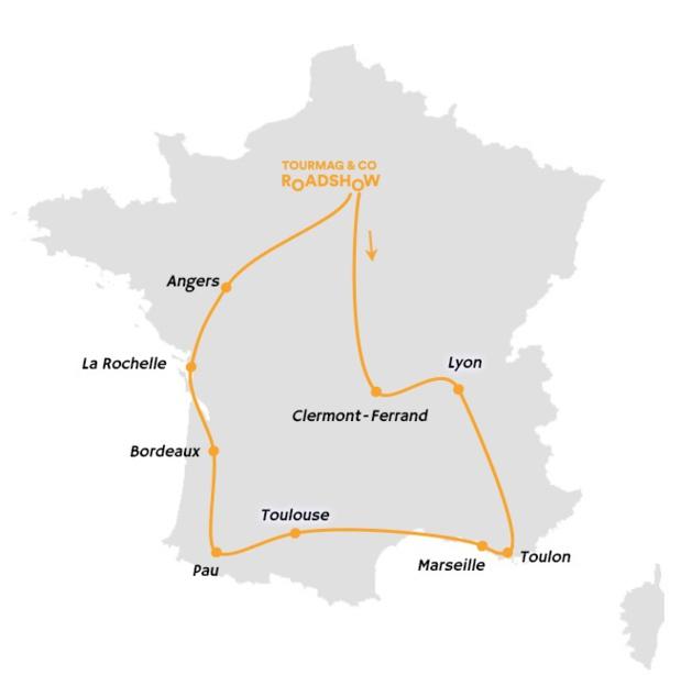 Acrotel sillonne la France avec le TourMaG and Co RoadShow