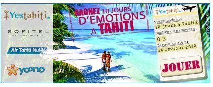 FICHE YES TAHITI