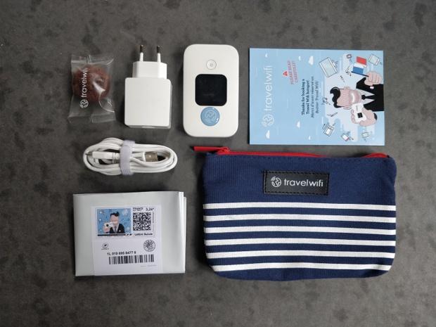 Le kit Travel Wifi Crédit : Travel Wifi