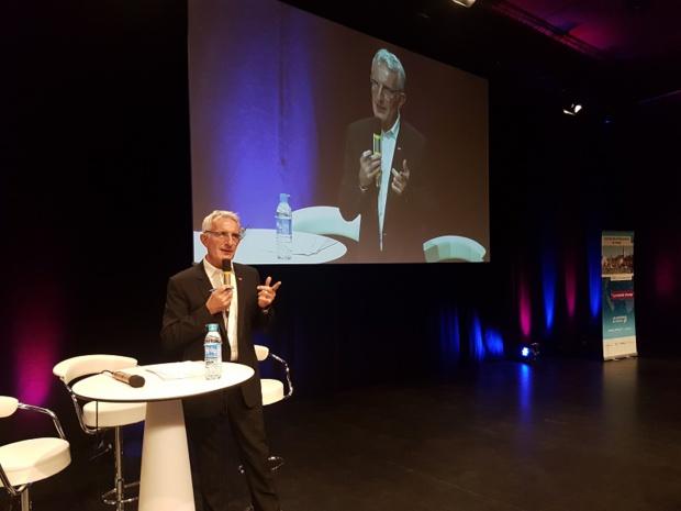 """Guillaume Pepy, président de la SNCF : """"Nous restons très attachés à la rétribution des agences de voyages. Nous ne nous inscrivons pas dans la logique de la commission zéro"""" - Photo CE"""
