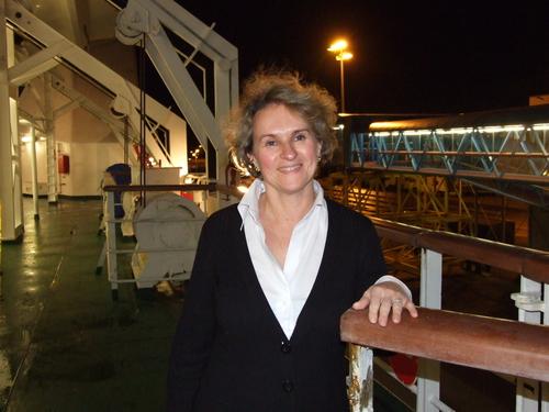 Florence Gourdon est en poste à Brittany Ferries depuis moins d'un an / DR : C.Ex.