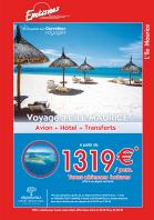 Apavou/Exotimes : flyer spécial pour les agences Carrefour