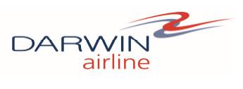 Suisse : Darwin Airline SA déclare son insolvabilité
