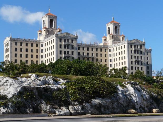 L'Hotel Nacional à La Havane, emblème de la ville. - DR