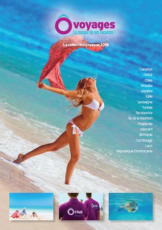 Nouvelle brochure ÔVoyages  « La Collection Joyeuse » - DR