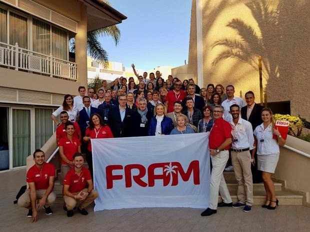 Le Framissima Les Dunes D'or a accueilli du 16 au 19 novembre le séminaire 2017 des ambassades Fram à Agadir - Photo FRAM