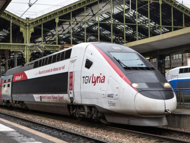 Proposer le même service que dans les classes affaires dans l'avion : tel est le pari de Lyria © TGV Lyria