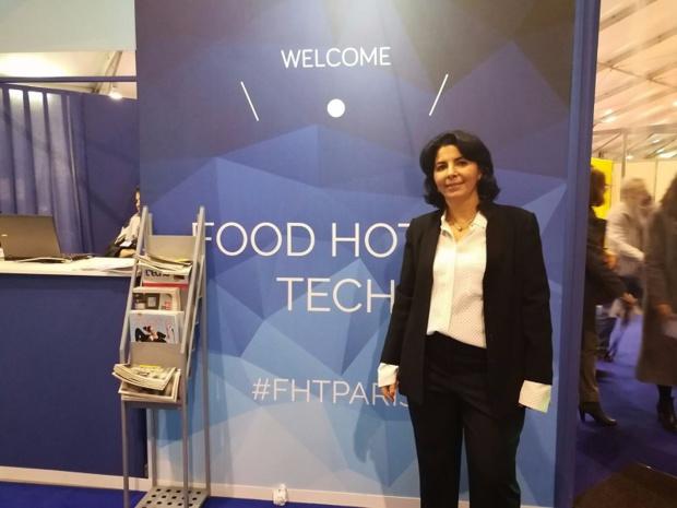 Karen Serfaty a créé le salon Food Hotel Tech Crédit : i-tourisme