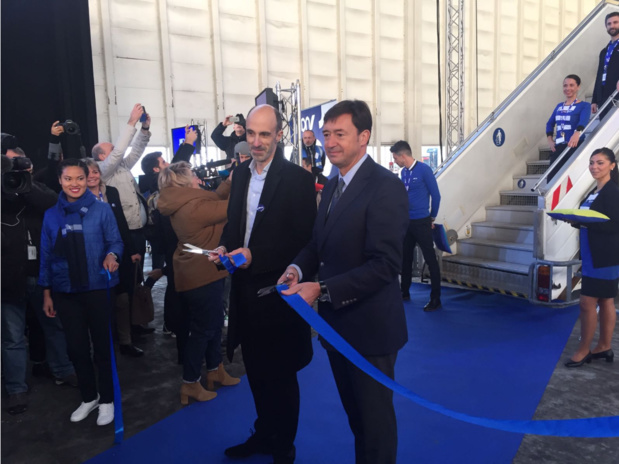 Jean-Michel Mathieu, le PDG de Joon et Franck Terner Directeur général d'Air France