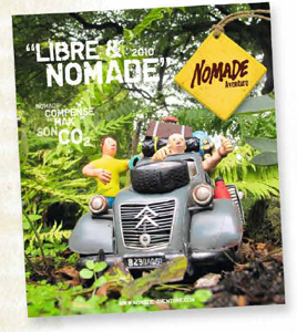Nomade Aventure : 13 nouveautés pour la brochure ''Libre et Nomade''