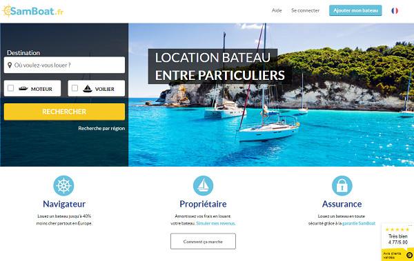 Samboat vient de signer une collaboration avec Dream Yacht Charter - Dr