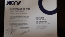 Le certificat de Vol - Photo CH
