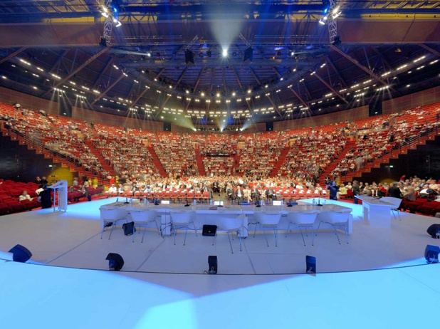 L'amphitheatre du Centre de Congrès de Lyon accueillera le congrès Selectour les 7 et 8 décembre 2017 - DR OT Lyon