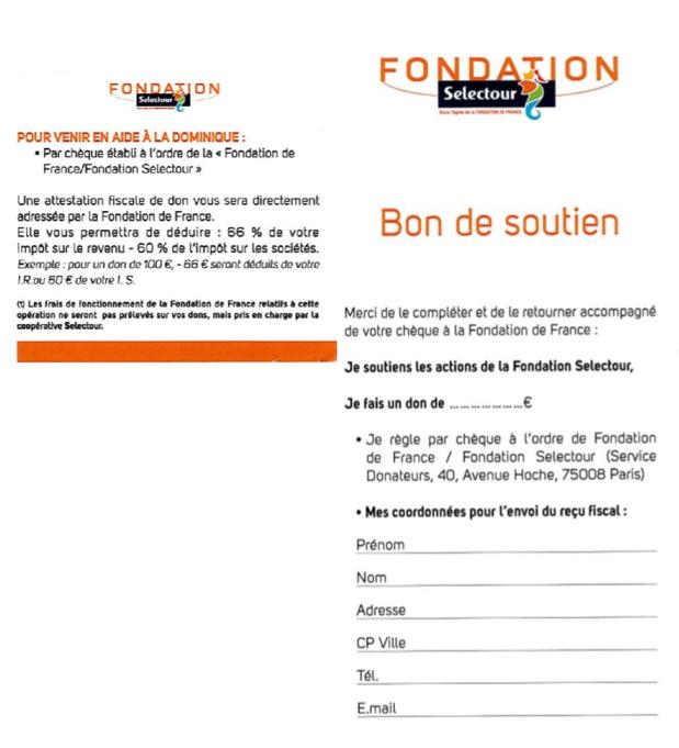 DR fondation Selectour