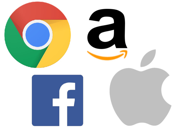 Les GAFA : Google - Amazon - Facebook - Apple - DR TourMaG