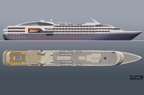Le yacht Boréal rejoindra la flotte le 3 mai prochain