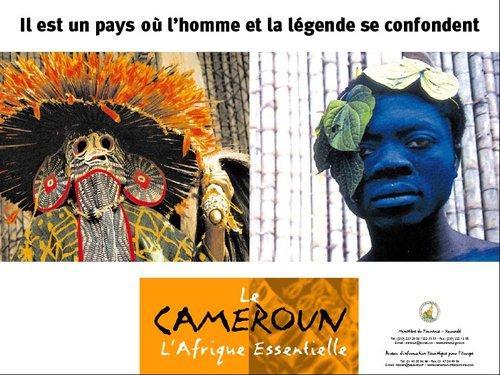 Une des campagnes publicitaires réalisées pour le Cameroun par l'agence. Les budgets tourisme représentent plus de 50% de ses budgets