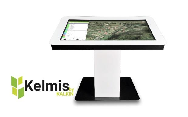 La table tactile Kelmis investit la station de La Plagne DR