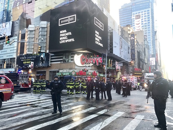 Crédit photo : compte Twitter @NYPDnews